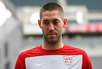 28 May 2010: Clint Dempsey. The United States Men's National Team held a practice session at Lincoln Financial Field in Philadelphia, Pennsylvania the day before playing Turkey in their final home friendly prior to the 2010 FIFA World Cup in South Africa.