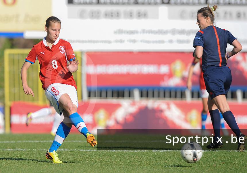 Germany U19 - Czech Republic U19 : <br /> <br /> Czech Republic U19 : Eliska Jasova<br /> <br /> foto Dirk Vuylsteke / Nikonpro.be