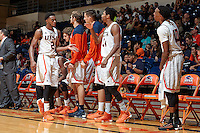 SAN ANTONIO, TX - NOVEMBER 5, 2015: The University of Texas at San Antonio Roadrunners defeat the Southeastern Oklahoma State University Savage Storm 92-81 at the UTSA Convocation Center. (Photo by Jeff Huehn)
