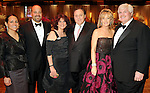 From left: Chairs Alina and Roberto Garcia, Donna and Tony Vallone and Sheridan and John Eddie Williams at the 2010 Circle of Life Gala benefitting Pediatric and Adult Centers of Excellence in Neurosciences at the Hilton Americas Houston Saturday May 08,2010.  (Dave Rossman Photo)