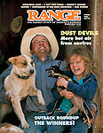 Published photography by Larry Angier..Cover photo, RANGE magazine