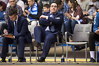 San Pablo Burgos coach Diego Epifanio during Liga Endesa match between San Pablo Burgos and Monbus Obradoiro at Coliseum Burgos in Burgos, Spain. April 01, 2018. (ALTERPHOTOS/Borja B.Hojas) /NORTE PHOTO NORTEPHOTOMEXICO