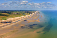 France, Normandie, Manche (50), (vue aérienne) // France, Normandy, Manche, (aerial view)