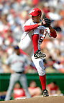 11 April 2006: Joey Eischen, pitcher for the Washington Nationals, on the mound during the Nationals' Home Opener against the New York Mets in Washington, DC. The Mets defeated the Nationals 7-1 to start the 2006 season at RFK Stadium...Mandatory Photo Credit: Ed Wolfstein Photo..