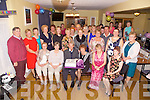 Mary Francis O'Sullivan seated front centre from Kilmackerin, Cahersiveen pictured at her retirement party in the Ring of Kerry Hotel, Cahersiveen on Friday night, Mary Francis spent the last 17 years nursing in St Anne's Hospital Cahersiveen.