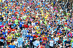 Thousands of marathoners compete during the Tokyo Marathon on Sunday, Feb. 26, 2017 in Tokyo, Japan.<br /> Photo by Kevin Clifford