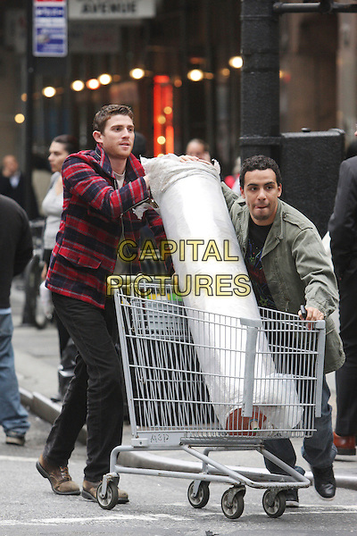 BRYAN GREENBERG & VICTOR RASUK.in How to Make It in America.*Filmstill - Editorial Use Only*.CAP/FB.Supplied by Capital Pictures.