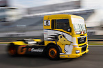 French driver Anthony Janiec belonging Portugese team Lion Truck Racing during the super pole SP2 of the XXX Spain GP Camion of the FIA European Truck Racing Championship 2016 in Madrid. October 02, 2016. (ALTERPHOTOS/Rodrigo Jimenez)