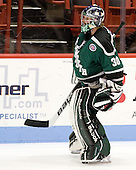 Jack Astedt (PSU - 30) - The visiting Plymouth State University Panthers defeated the Wentworth Institute of Technology Leopards 2-1 on Monday, November 19, 2012, at Matthews Arena in Boston, Massachusetts.