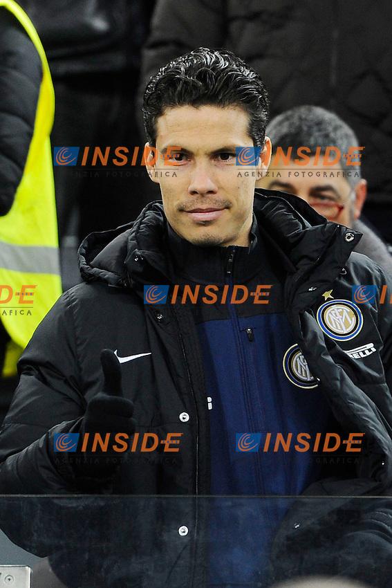 Anderson Hernanes Inter <br /> Torino 02-02-2014 Juventus Stadium. Football Calcio Serie A 2013/2014 Juventus - Inter. foto Image Sport/Insidefoto