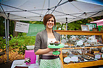 The Portland Farmers' Market in the South Park Blocks on Saturday mornings.  Petunia's Pies and Pasteries which offers only gluten free, vegan artisan baked goods.  Owner Lisa Clark presides over her weekly stand.