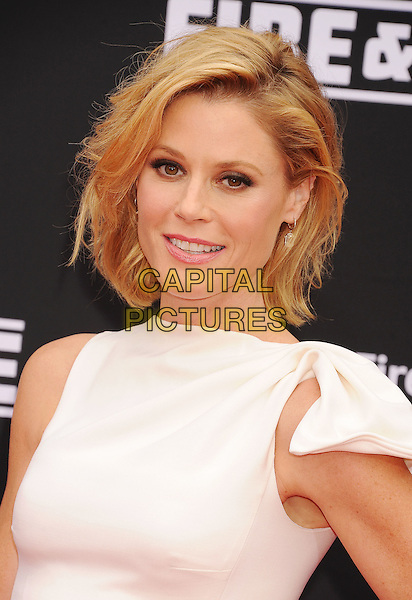 HOLLYWOOD, CA- JULY 15: Actress Julie Bowen arrives at the Los Angeles premiere of Disney's 'Planes: Fire &amp; Rescue' at the El Capitan Theatre on July 15, 2014 in Hollywood, California.<br /> CAP/ROT/TM<br /> &copy;Tony Michaels/Roth Stock/Capital Pictures