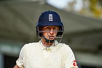 Joe Root of England during Day 4 of the Second International Cricket Test match, New Zealand V England, Hagley Oval, Christchurch, New Zealand, 2nd April 2018.Copyright photo: John Davidson / www.photosport.nz
