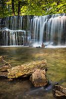 Hidden Falls on Prairie Creek in Nerstrand Big Woods State Park, Minnesota.