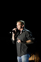 Montreal (Qc) CANADA, July 7, 2007 - <br /> <br /> Garou<br />  onstage at  Live Earth in Montreal (montreal sur Terre) , July 7, 2007.<br /> photo (c)  Images Distribution