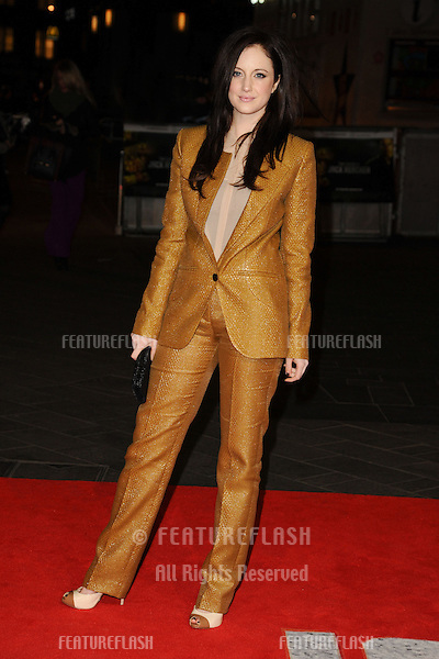 "Andrea Riseborough arrives for the ""Jack Reacher"" premiere at the Odeon Leicester Square, London. 10/12/2012 Picture by: Steve Vas / Featureflash"