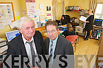 At the Kerry Network for People with disabilities on Wednesday were Charlie Smith, Chairperson and Noel O'Neill Vice-Chairperson.