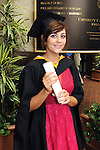 With Compliments,  25/8/2015  Attending the University of Limerick Conferrings was Jennifer Twomey, Lixnaw, Co.Kerry, who was conferred with a LLB in Law Plus.<br /> Pic: Gareth Williams / Press 22