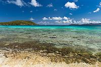 Hawksnest Bay<br /> Virgin Islands National Park<br /> St. John USVI<br /> Post hurricane photo