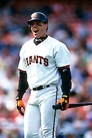 SAN FRANCISCO, CA - J.T. Snow of the San Francisco Giants in action during a game at Candlestick Park in San Francisco, California in 1997. Photo by Brad Mangin