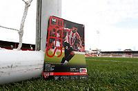 4th January 2020; Griffin Park, London, England; English FA Cup Football, Brentford FC versus Stoke City; Official Match Programme  - Strictly Editorial Use Only. No use with unauthorized audio, video, data, fixture lists, club/league logos or 'live' services. Online in-match use limited to 120 images, no video emulation. No use in betting, games or single club/league/player publications
