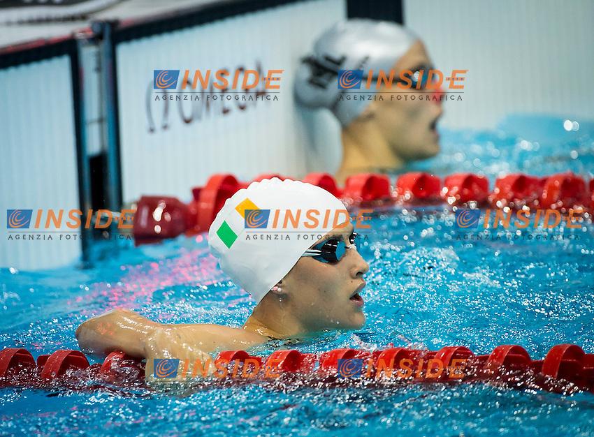 NOCHER Melanie IRL.100 Backstroke Women.Swimming heats.London 2012 Olympics - Olimpiadi Londra 2012.day 03 July 29.Photo G.Scala/Deepbluemedia.eu/Insidefoto.