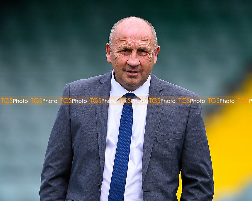 Accrington Stanley Manager John Coleman during Yeovil Town vs Accrington Stanley, Sky Bet EFL League 2 Football at Huish Park on 12th August 2017
