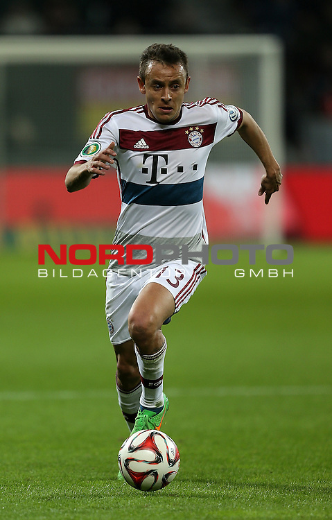08.04.2015, BayArena, Leverkusen, DFB Pokal, Bayer 04 Leverkusen vs. Bayern M&uuml;nchen<br /> Rafinha (M&uuml;nchen)<br /> Foto &copy; nordphoto /  Bratic