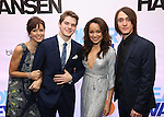 Garrett Long, Colton Ryan, Olivia Puckett and Michael Lee Brown attends the Broadway Opening Night After Party for 'Dear Evan Hansen'  at The Pierre Hotel on December 3, 2016 in New York City.