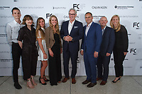 FIT Board members arrive at the Future of Fashion 2017 runway show at the Fashion Institute of Technology on May 8, 2017.