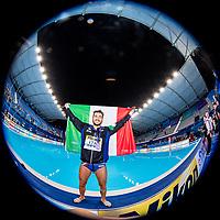 ITA - Italy Gold Medal Francesco Di Fulvio<br /> Gwangju South Korea 27/07/2019<br /> Waterpolo Spain v. Italy ESP - ITA Gold Final<br /> 18th FINA World Aquatics Championships<br /> Nambu University Grounds <br /> Photo © Giorgio Scala/ Deepbluemedia / Insidefoto