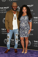 BEVERLY HILLS, CA - MARCH 29: Rockmond Dunbar, Maya Gilbert at 2017 PaleyLive LA Spring Season presents Prison Break at The Paley Center For Media in Beverly Hills, California on March 29, 2017. Credit: David Edwards/MediaPunch