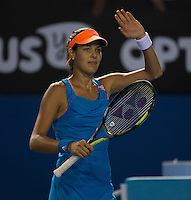 ANA IVANOVIC (SRB)<br /> Tennis - Australian Open - Grand Slam -  Melbourne Park -  2014 -  Melbourne - Australia  - 15th January 2014. <br /> <br /> &copy; AMN IMAGES, 1A.12B Victoria Road, Bellevue Hill, NSW 2023, Australia<br /> Tel - +61 433 754 488<br /> <br /> mike@tennisphotonet.com<br /> www.amnimages.com<br /> <br /> International Tennis Photo Agency - AMN Images