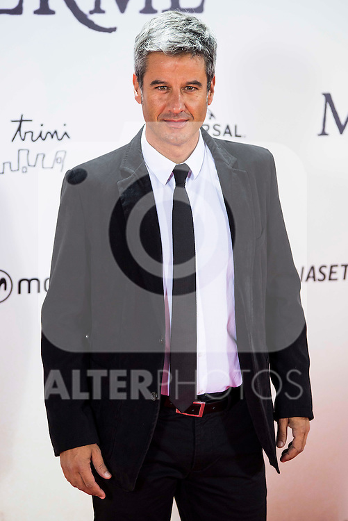 "Nico Abad during the premiere of the spanish film ""Un Monstruo Viene a Verme"" of J.A. Bayona at Teatro Real in Madrid. September 26, 2016. (ALTERPHOTOS/Borja B.Hojas)"