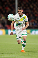 Ivo Pinto of Norwich City runs with the ball during AFC Bournemouth vs Norwich City, Caraboa Cup Football at the Vitality Stadium on 30th October 2018