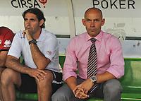 25AGO2012_LaLiga_Spain_RealBetisVSRayoVallecano_Paco Jemez_coach Rayo Vallecano
