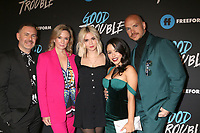 "LOS ANGELES - JAN 8:  Brad Bredeweg, Joanna Johnson, Maia Mitchell, Cierra Ramirez, Peter Paige at the ""Good Trouble"" Premiere Screening at the Palace Theater on January 8, 2019 in Los Angeles, CA"
