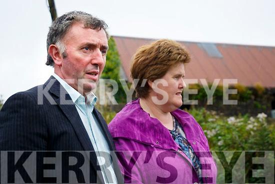 North Kerry Farmer Michael O'Connor and his wife Trisha who had 11 cows stolen from his Farm near Glin.