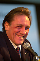 Gerard Depardieu, <br /> at the 2002 World Film Festival -<br /> au Festival des Films du Monde 2002