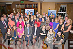 RETIRED: On Friday night in Ballygarry House Hotel & Spa, Tralee a gathering of teachers of the Green CBS, Family and friends, of  Brendan Brosnan Cloghane, Dingle to wish him all the best as he retired from teaching after 37 years (Brendan is seated centre).......