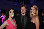 Meryl Davis & Charlie & Tanith White - The 11th Annual Skating with the Stars Gala - a benefit gala for Figure Skating in Harlem - honoring Meryl Davis & Charlie White (Olympic Ice Dance Champions and Meryl winner on Dancing with the Stars) and presented award by Tamron Hall on April 11, 2016 on Park Avenue in New York City, New York with many Olympic Skaters and Celebrities. (Photo by Sue Coflin/Max Photos)