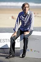 "Director David Trueba posses in the photocall of the ""Vivir es facil con los ojos cerrados"" film presentation during the 61 San Sebastian Film Festival, in San Sebastian, Spain. September 24, 2013. (ALTERPHOTOS/Victor Blanco) /NortePhoto /Nortephoto"