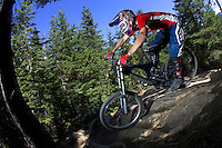 Arran Gannicott..Whistler , BC , Canada ..July 2007..pic copyright Steve Behr / Stockfile