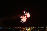 Fireworks at Pizza Hut Park in Frisco TX - July 3, 2010