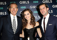 www.acepixs.com<br /> <br /> February 2 2017, New York City<br /> <br /> (L-R) Brian Williams, Allison Williams and Douglas Williams arriving at the the New York premiere of the sixth and final season of 'Girls' at the Alice Tully Hall, Lincoln Center on February 2, 2017 in New York City.<br /> <br /> By Line: Nancy Rivera/ACE Pictures<br /> <br /> <br /> ACE Pictures Inc<br /> Tel: 6467670430<br /> Email: info@acepixs.com<br /> www.acepixs.com