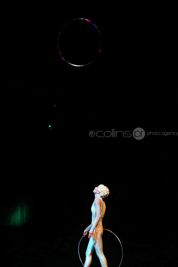 25/4/12 Cirque du Soleil live at the O2, Dublin. Picture: Collins Photos
