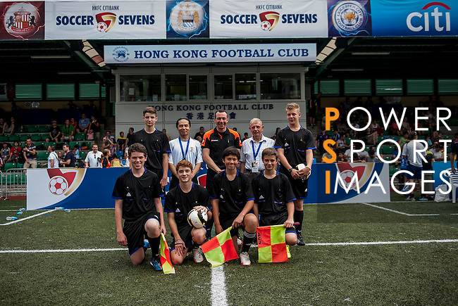 xxx vs xxx during the Day 2 of the HKFC Citibank Soccer Sevens 2014 on May 24, 2014 at the Hong Kong Football Club in Hong Kong, China. Photo by Victor Fraile / Power Sport Images