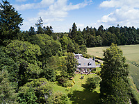Dhadey´s house in Perthshire, Scotland