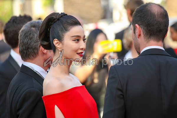 """24 May 2017 - Cannes, France - Fan Bingbing, Melvil Poupaud . """"The Beguiled"""" Premiere during the 70th Cannes Film Festival. Photo Credit: GeorgWenzel/face to face/AdMedia"""