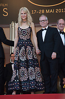 Nicole Kidman &amp; Thierry Fremaux at the 70th Anniversary Gala for the Festival de Cannes, Cannes, France. 23 May 2017<br /> Picture: Paul Smith/Featureflash/SilverHub 0208 004 5359 sales@silverhubmedia.com